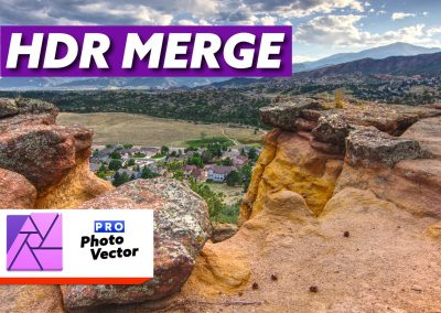 Edit High Dynamic Range/Exposure Bracketed Images in Affinity Photo